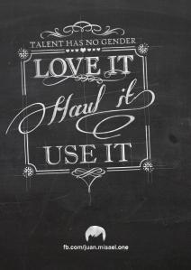 T - chalkboard